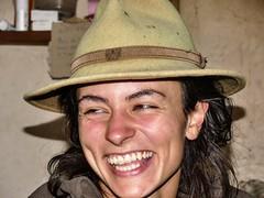 Rosalie, bergère (François Magne) Tags: berger bergère brebis troupeau estive alpage pastoraloup transhumance scene pastorale fz 300 lumix loup couchade