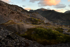 Had enough grey yet? (PentlandPirate of the North) Tags: dinorwic slatequarry snowdonia northwales gwynedd ruins derelict dinorwig
