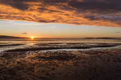 West Kirby Sunset (David Chennell - DavidC.Photography) Tags: wirral merseyside westkirby beach goldenhour sunset hilbreisland