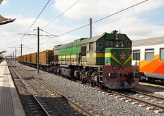 ONCF diesel, Marrakech,  11 Oct 2018 (Mr Joseph Bloggs) Tags: emdgt26cw2 emd electro motive division morocco train treno bahn railway railroad oncf freight cargo merci marrakech