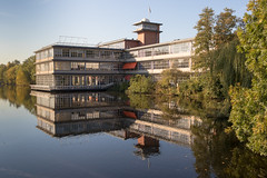 365 #289.Architecture (PeteMartin) Tags: 365 architecture reflection water amstelveen netherlands nld