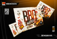 BBQ Weekend Flyer (AndyDreamm) Tags: 4thofjuly bar barbecue bbq bbqparty beachparty cookout food foods fourthofjuly green grill grillparty holidayparty hot ivy kebabparty park party patioparty pub restaurant rustic steak summer sun wood