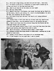 Slaughter And The Dogs interview (stillunusual) Tags: manchesterrains robgretton slaughterandthedogs slaughterthedogs fanzine musicfanzine punkfanzine punkzine punk punkrock newwave 1970s 1977