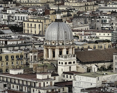 Rooftops of Naples (Jack Heald) Tags: naples italy italian vintage monotone city cityscape heald jack sony rx100 rx100m6 dscrx100 travel tourist tourism