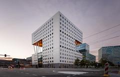 O|2 Building II (Jack Landau) Tags: o|2 building zuidas amsterdam 02 o2 modern architecture city urban design sunset dusk canon 5d jack landau sky road