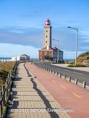 Portugal 2017-9042004-2 (myobb (David Lopes)) Tags: 2017 allrightsreserved atlanticocean europe nazare portugal absence bikepath cobblestone copyrighted landscape lighthouse nature nopeople ocean outdoor plant scenicnature sidewalk sky skybluesky street streetlamp tourism touristattraction tranquilscene tranquilty traveldestination vacation water ©2017davidlopes