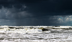 Rain is on the way (Ilia A) Tags: sea clouds rain outdoor water waves daylight canon70d