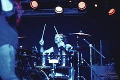 BigFoot @ The Slade Rooms 14/04/18 (WeronikaOl) Tags: vocalist vocal band liveband live music guitar bass drums percussion hair hairflip blue bw black white blackandwhite singer rock microphone wolverhampton