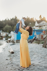 Jocelyn Ramirez- Sept2018-5 (ChristieCFox) Tags: children baby oneyearold beach bainbridgeisland poulsbo kitsap kitsapphotographer family motherandson
