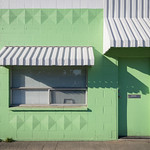 Green painted building thumbnail