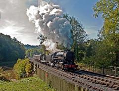 military mixed (midcheshireman) Tags: steam staffordshire train locomotive railway churnetvalley s160
