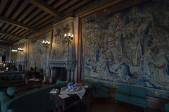 Tapestry (rschnaible) Tags: biltmore house estate mansion home building architecture asheville north carolina the south history historic interior tapestry low light