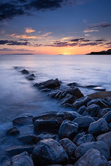 Kimmeridge Bay, Dorset at Twilight (~g@ry~ (clevedon-clarks)) Tags: nisi nisifilters nikonphotography nikon photography photographylovers photography101 fineartphotography seascape instagood photooftheday beautiful picoftheday instagram dorset longexposure