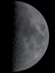 The Moon (ukmjk) Tags: moon astro astronomy nikon d500 orion optics omc140 eq6 staffordshire stoke night dark