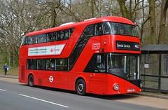 LT1000 London United (tubemad) Tags: london united lt1000 ltz1000 borismaster lt cobham spring rally 462