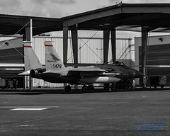 A REDHAWK EAGLE RETURNS TO THE NEST (AvgeekJoe) Tags: 123fightersquadron 123rdfs 123rdfightersquadron 142fw 142ndfw 142ndfighterwing 780479 airforce airnationalguard bw blackwhite blackandwhite boeingeagle boeingf15eagle boeingf15ceagle d5300 dslr f15c f15ceagle kpdx mcdonnelldouglasf15eagle mcdonnelldouglasf15ceagle nikon nikond5300 oregonang oregonairnationalguard oregonairnationalguard142dfighterwing pdx portlandairnationalguardbase portlandinternationalairport selectivedesaturation usairforce usaf airsuperiorityjet aircraft airplane aviation cn459c012 combataircraft eagle fighterjet jet militaryaircraft militaryaviation photoshopadjusted plane