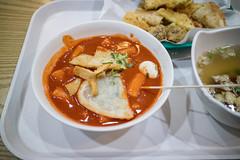 Tteockbboki. (Kim Jin Ho) Tags: korea spicy rice cake fried food
