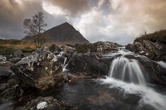 Glen Etive Falls (Camera_Shy.) Tags: glen etive falls pap glencoe landscape water mountains scotland