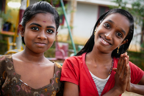 Girls. Kerala, India, 2018