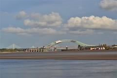 Three Bridges (Gerry Rudman) Tags: silver jubilee mersey gateway railway 1868 1961 2017 river runcorn widnes