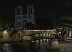 Catedral de Notre Dame (H.M.MURDOCK) Tags: paris francia viajes nocturnas urbanas nikon d610