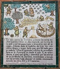 mural de azulejos en Archez (Stil Licht) Tags: archez axarquia espagna sierraalmijara sierratejeda spain spanje muraldeazulejos cuadrodeazulejos tegeltableau tiletableau