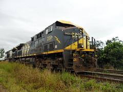 MRS GE AC44i 3401 (Valber Santana) Tags: ac44i mrs locomotiva logística linha locomotive trem transporte transport train tarde trecho variantedoparateí itaquaquecetuba itaquá brasil brazil pinheirinho