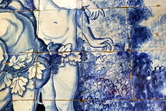 Extremadura 2018 (MARIA GEMES) Tags: mosaico adan eva azul olivenza iglesia antigüedad españa spain