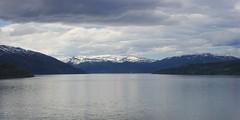 Ranfjorden (sfryers) Tags: nordland railway landscape view lake mountains snow clouds norway smc pentaxfa 35mm 12