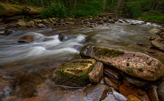 Every Teardrop is a Waterfall (Kathy Macpherson Baca) Tags: landscape river stream water world forest pennsylvania rushing waterscape cold icy planet woods earth sunset