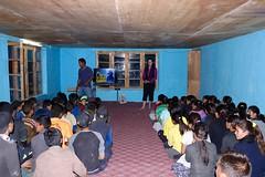 Presenting to Wanla School