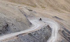 The last 300m of the climb towards Sirsir Pass, image: S Jigmet
