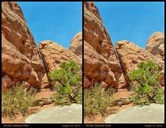 3D-Arches-37 (stereo_eyz) Tags: 3d arches nationalpark utah sandstone desert