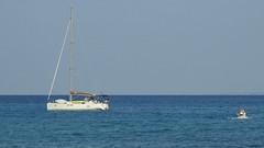 Heading for the Shore (RobW_) Tags: dirk annie michelle yacht esprit freddiesbar tsilivi beach zakynthos greece sunday 07oct2018 october 2018