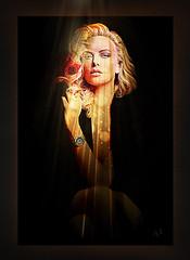 Charlize Theron 02 (andrzejslupsk) Tags: charlizetheron woman portrait actress andrzej słupsk slupsk hollywood face movie art photo manipulation star