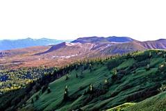 Fire Mountain (tez-guitar) Tags: pass moutain peaks highland sky leicax1 leica nagano gunma