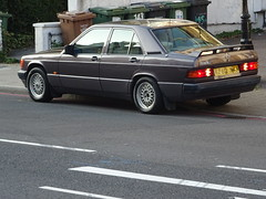 1992 Mercedes Benz 190E Auto (Neil's classics) Tags: vehicle car 1992 mercedes benz 190e w201