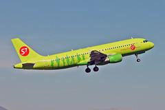 VQ-BRC Airbus A.320-214 S7 Airlines AGP 23-09-18 (PlanecrazyUK) Tags: lemg malaga–costadelsolairport malaga costadelsol vqbrc airbusa320214 s7airlines agp 230918