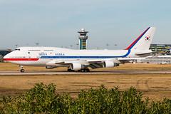 B747-400 / Korean Air Force / 10001 (Verco91) Tags: president south korean air force boeing 747400 b747 10001 paris orly airport france landing plane