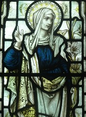 [66960] Roughton : Mary Spurrier Window (Budby) Tags: roughton lincolnshire church window stainedglass