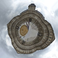 Little Planet: Louvre Museum, Paris, France (SpirosK photography) Tags: travel travelling travellog planet 360 360degrees panorama pano 360panoramic polarprojection louvremuseum paris france louvre museum