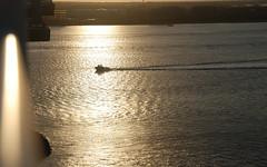 Ravenel Bridge Sunrise (damack1) Tags: ravenel bridge charleston south carolina sunrise harbor water ships