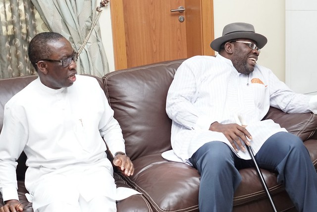 HSDickson - Post Primaries Reconciliation Meeting with Sen Markafi, Abuja, 16th Oct 2018