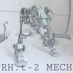 R&D RH.t-2 MECH (Marco Marozzi) Tags: lego legomech moc mecha mak maschinen krieger marco marozzi mech robot