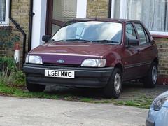 1993 Ford Fiesta LX (Neil's classics) Tags: vehicle 1993 ford fiesta lx