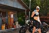 Bike Wash (Chad Horwedel) Tags: harleydavidson bike model wash woman psychosilo7173 langley illinois