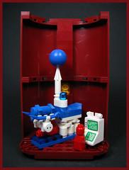 Medical Repair Bay (Karf Oohlu) Tags: lego moc vignette microscale microfig scifi medical medicalbay surgery