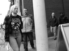 Hollywood Undead (Bury Gardener) Tags: bw blackandwhite snaps 2018 nikond7200 nikon burystedmunds suffolk street streetphotography streetcandids candid candids people peoplewatching folks england eastanglia uk britain cornhill