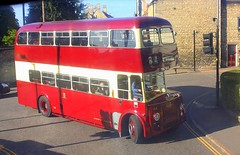 Passing at Stamford Rutland (Chris Baines) Tags: leyland titan with body tbc 164 stamford rutland fleet number willbrook