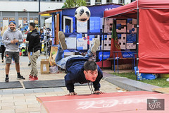 Catch the moment✌😎 (richárdjánosi) Tags: sport football teqball moment catch canon canon700d hungary 1855 janricsiartphoto adidas pte university